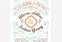 Wedding invitations/uitnodigingen
