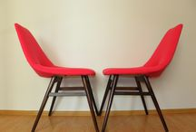 Magenta Chair / Magenta Chair. Inspirated by Pierre Guariche. Modell:Tonneau. Year1954/55 www.updatechair.com