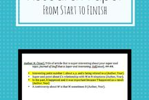 Non-Fiction Hacks / Ways to write your papers, letters, and all other non-fiction more effectively.