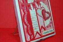 St-Valentin/Valentine's day / Créations Boitatou sur le thème de la St-Valentin: amour ou amitié.