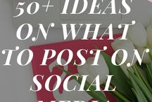 Social Media Tips and Tricks / As a busy marketing manager and someone interested in all things digital, I love reading social media tips. Here i collect all my pins that relate to SEO, Social Media, Twitter, Pinterest, Facebook, YouTube - you name it!