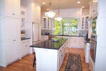 Kitchens / Style, color, arrangement, design, appliances