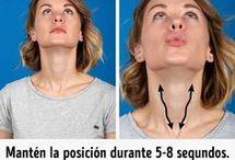 Ejercicios cuello y cara