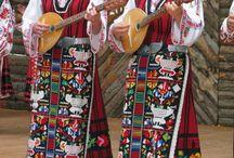 magnifique folklore des pays de l'est