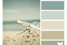 Home Decor / Beach Tone Color palet / by Gail Howser