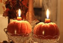 thanksgiving centerpieces / by Lisa Lacher