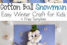 januar/ winter crafts