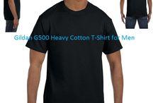 Gildan G500 Heavy Cotton T-Shirt for Sale