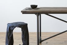WORN SERIES / THE WORN FAMILY IS A SERIES OF PRODUCTS MADE ENTIRELY FROM RECYCLED CLOTHING AND A RESIN COATING.