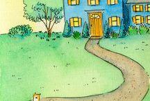 casas ilustradas