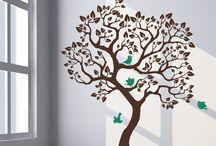 Painted tree / árbol pintado