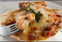 recetas de mariscos y calamares