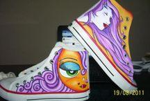 zapatillas pintadas