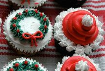 Christmas Buttercream cakes