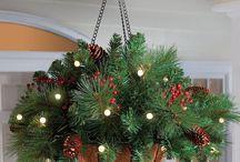vánoční mísa závěs