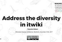 WikiDonne / Wikimedia Diversity Conference 2017