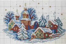 téli falu