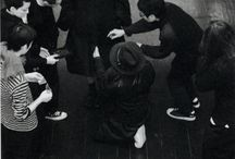 Yohji Yamamoto Fall/Winter 2014-15 by Elise Toïdé / Runway Backstage picture by Elise Toïdé