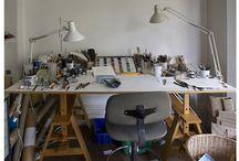 my dream studio / by Laura Jane Smith (Godfrey)