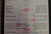 Primary-- Priesthood Preview