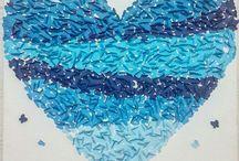 Mavi and blue