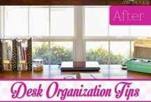 organize / by Amelia Taylor