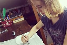 Instagram Una 'Patafisica al lavoro!  www.aryzona.org  #Aryzona #tenenbaum #ipatafisici