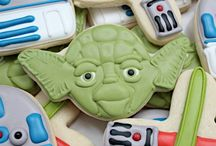 star wars cookies/cakes ideas to make