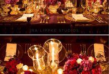 fuchsia-red wedding inspiraton