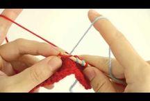 Videoer til hvordan man strikker