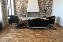 Fethiye / Turkey - Oak Marquetry Flooring