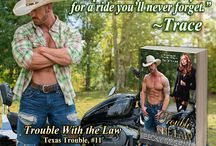 Trouble With the Law (#11, Texas Trouble) / Trace & Ronnie's Story, Book 11 in the Texas Trouble Series by Becky McGraw