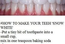 Teeth cleanse