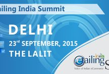 eTailing India Summit Delhi 2015 / eTailing India Summit Delhi 2015 brings together all the eCommerce Entrepreneurs. The Summit has been designed to help the Retail and eCommerce Community to come out and stand strong not just for their Enterprise but also for the cause of building this nation and making it one of the best nations across the globe.