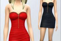 Sims 4 elbise