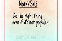 Note2Self / Note2Self - self talk