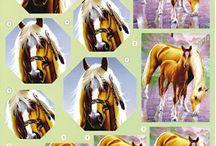 3d-Paarden