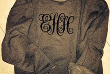 Monogram Fonts for cruise shirts / by Kimberly Adams