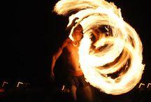 Chief's Luau Fire