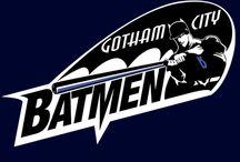Bat Man Tees