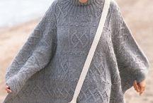 Knit Ponchos