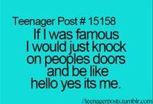 Things teenagers do