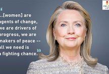 Influential Women / Quotes from women that empower women in modern world.