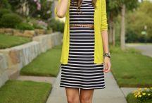 stripe dresses