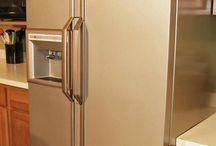 Renovar cozinha / Pintar electrodomésticos