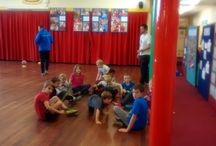 Huntington Primary School, York, October Holiday Club / Team sports, bouncy castle, visit from sporty, halloween themes like zombie tag, Flag making, dodgeball and so much more