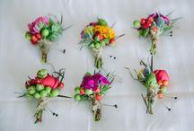 WEDDING // boutonniere / buttonhole