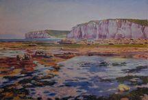 Bord de Mer - peintures de Michèle Ratel