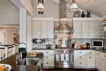 Kitchen vaulted ceiling