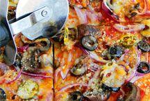 Pizza Recipe / vegetarian pizza